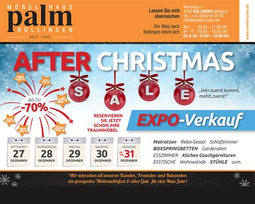 After Christmas Expo-Verkauf